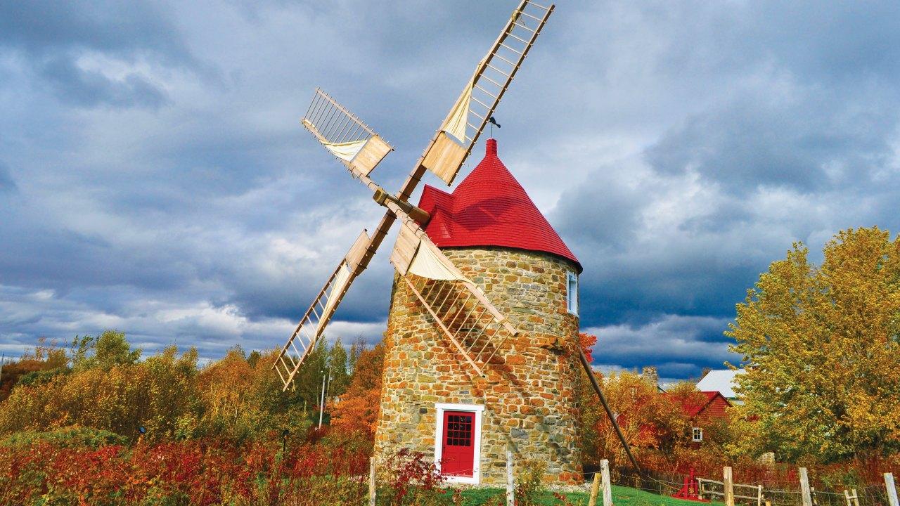 Les Moulins de L'Isle-aux-Coudres