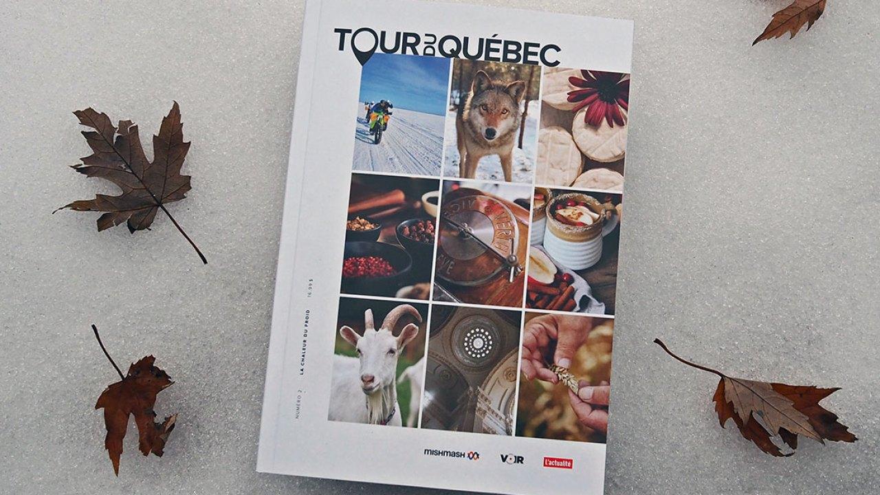 Tour du Québec V01#02 : La chaleur du froid