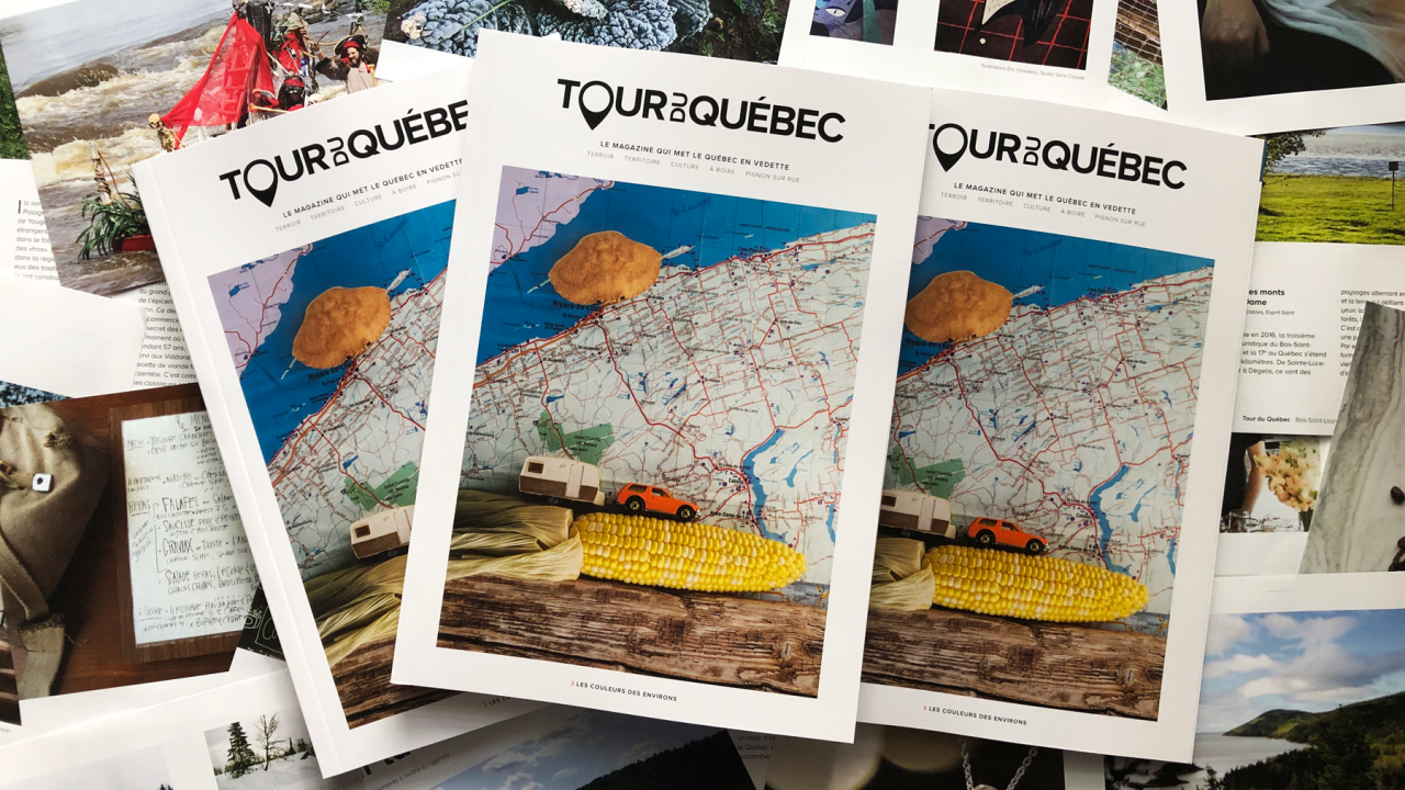Tour du Québec #03 : Les couleurs des environs